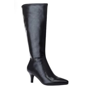 Mid-Heel Stretch Boots